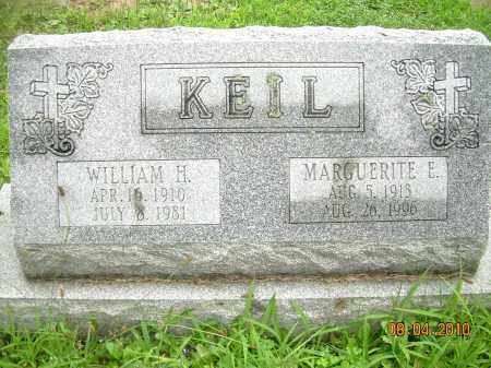KEIL, WILLIAM H - Columbiana County, Ohio | WILLIAM H KEIL - Ohio Gravestone Photos