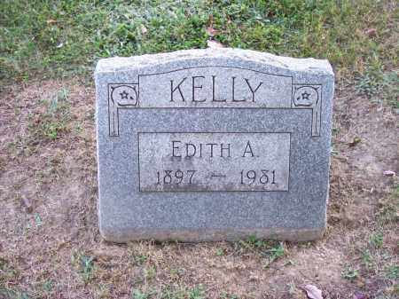 KELLY, EDITH A. - Columbiana County, Ohio | EDITH A. KELLY - Ohio Gravestone Photos