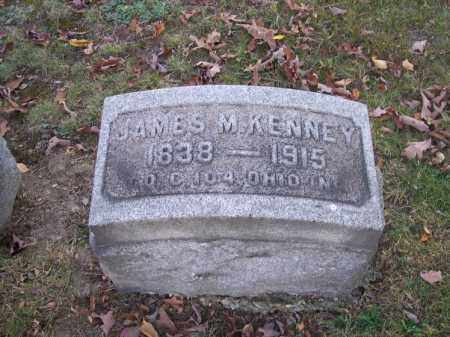 KENNEY, JAMES M. - Columbiana County, Ohio | JAMES M. KENNEY - Ohio Gravestone Photos