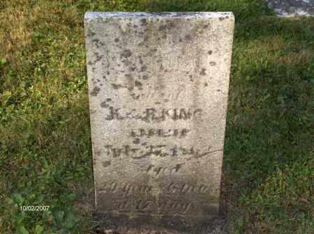 KING, SAMUEL - Columbiana County, Ohio | SAMUEL KING - Ohio Gravestone Photos