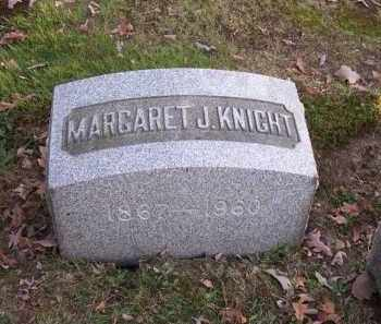 KNIGHT, MARGARET J. - Columbiana County, Ohio | MARGARET J. KNIGHT - Ohio Gravestone Photos