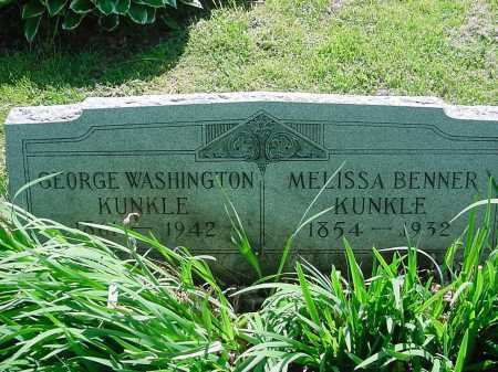 KUNKLE, MELISSA - Columbiana County, Ohio | MELISSA KUNKLE - Ohio Gravestone Photos