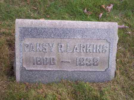 LARKINS, PANSY R. - Columbiana County, Ohio | PANSY R. LARKINS - Ohio Gravestone Photos