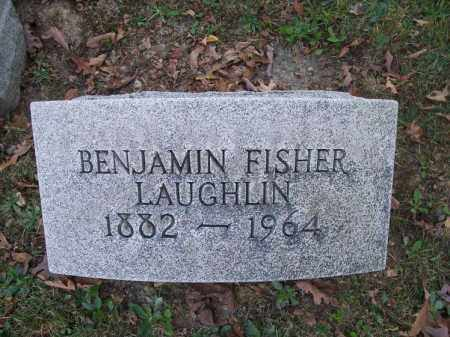 LAUGHLIN, BENJAMIN FISHER - Columbiana County, Ohio | BENJAMIN FISHER LAUGHLIN - Ohio Gravestone Photos