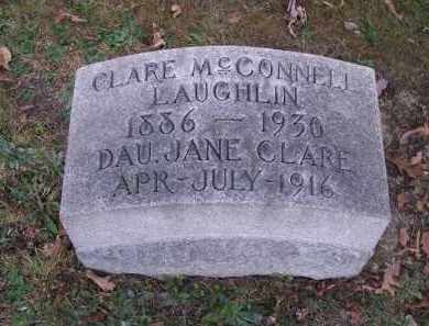 LAUGHLIN, CLARE MCCONNELL - Columbiana County, Ohio | CLARE MCCONNELL LAUGHLIN - Ohio Gravestone Photos