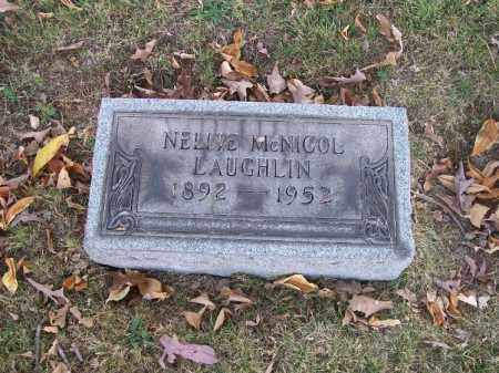 LAUGHLIN, NELLIE - Columbiana County, Ohio | NELLIE LAUGHLIN - Ohio Gravestone Photos