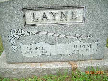 LAYNE, GEORGE - Columbiana County, Ohio | GEORGE LAYNE - Ohio Gravestone Photos