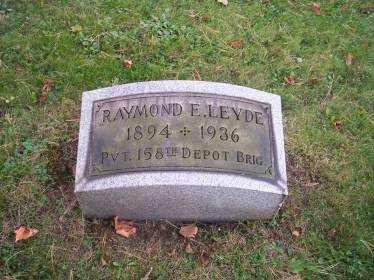 LEYDE, RAYMOND E. - Columbiana County, Ohio | RAYMOND E. LEYDE - Ohio Gravestone Photos