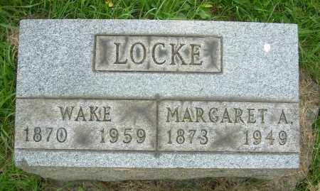 LOCKE, MARGARET A. - Columbiana County, Ohio | MARGARET A. LOCKE - Ohio Gravestone Photos