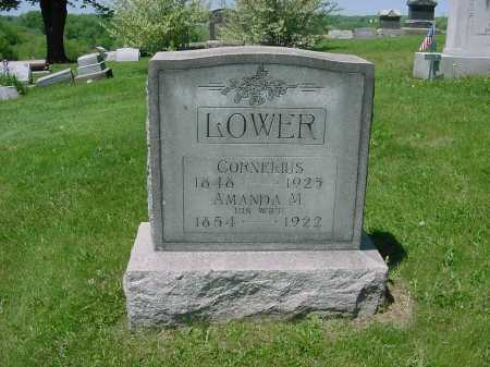 LOWER, CORNELIUS - Columbiana County, Ohio | CORNELIUS LOWER - Ohio Gravestone Photos