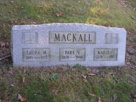 MACKALL, PARK V. - Columbiana County, Ohio | PARK V. MACKALL - Ohio Gravestone Photos