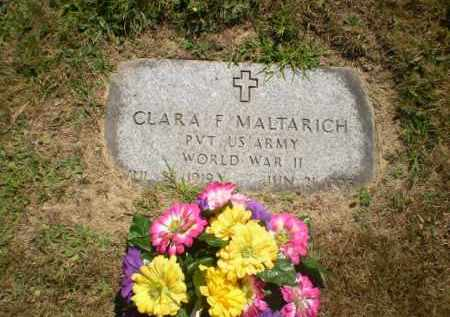 HALL MALTARICH, CLARA F. - Columbiana County, Ohio | CLARA F. HALL MALTARICH - Ohio Gravestone Photos