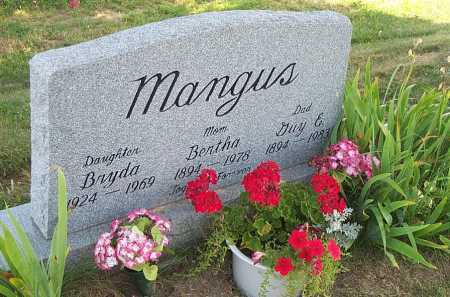 MANGUS, BRYDA - Columbiana County, Ohio | BRYDA MANGUS - Ohio Gravestone Photos