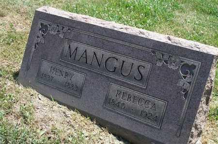 MANGUS, HENRY - Columbiana County, Ohio | HENRY MANGUS - Ohio Gravestone Photos