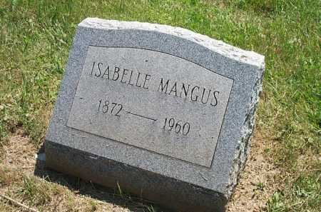 MANGUS, ISABELLE LAVINIA - Columbiana County, Ohio | ISABELLE LAVINIA MANGUS - Ohio Gravestone Photos
