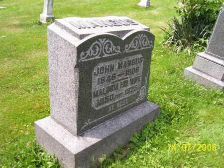 MANGUS, MALINDA - Columbiana County, Ohio | MALINDA MANGUS - Ohio Gravestone Photos