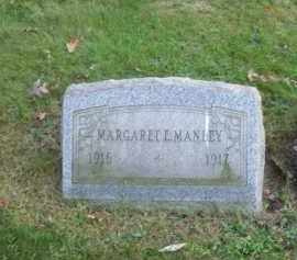 MANLEY, MARGARET E. - Columbiana County, Ohio | MARGARET E. MANLEY - Ohio Gravestone Photos