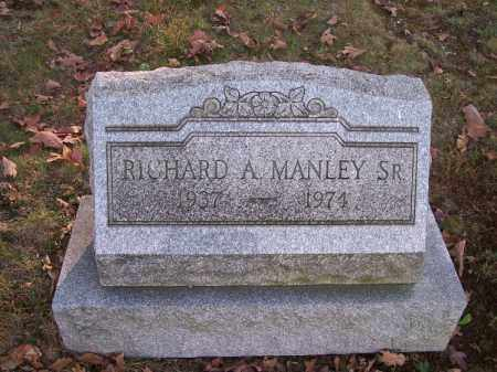 MANLEY, RICHARD A. SR. - Columbiana County, Ohio | RICHARD A. SR. MANLEY - Ohio Gravestone Photos