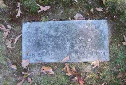 MANLEY, RICHARD A. SR. - Columbiana County, Ohio   RICHARD A. SR. MANLEY - Ohio Gravestone Photos