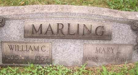 SNOWDEN MARLING, MARY L - Columbiana County, Ohio | MARY L SNOWDEN MARLING - Ohio Gravestone Photos