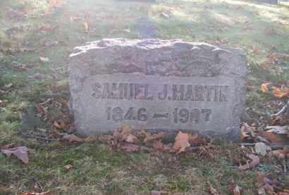 MARTIN, SAMUEL J. - Columbiana County, Ohio | SAMUEL J. MARTIN - Ohio Gravestone Photos