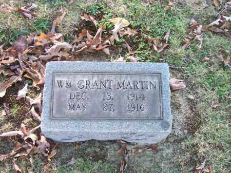 MARTIN, WM GRANT - Columbiana County, Ohio | WM GRANT MARTIN - Ohio Gravestone Photos