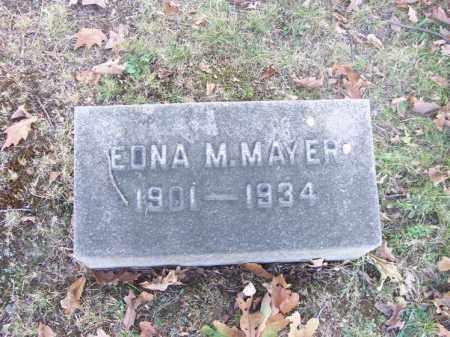 MAYER, EDNA M. - Columbiana County, Ohio | EDNA M. MAYER - Ohio Gravestone Photos
