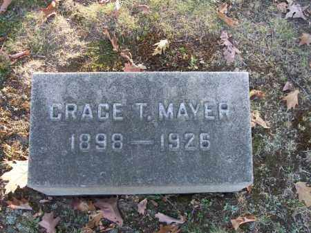MAYER, GRACE T. - Columbiana County, Ohio | GRACE T. MAYER - Ohio Gravestone Photos