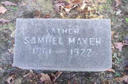 MAYER, SAMUEL - Columbiana County, Ohio | SAMUEL MAYER - Ohio Gravestone Photos