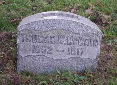 MCCAIN, TRUMAN W. - Columbiana County, Ohio | TRUMAN W. MCCAIN - Ohio Gravestone Photos