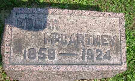 MCCARTNEY, EDGAR - Columbiana County, Ohio | EDGAR MCCARTNEY - Ohio Gravestone Photos