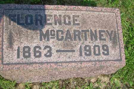 MCCARTNEY, FLORENCE - Columbiana County, Ohio | FLORENCE MCCARTNEY - Ohio Gravestone Photos