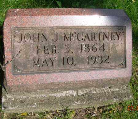 MCCARTNEY, JOHN J. - Columbiana County, Ohio | JOHN J. MCCARTNEY - Ohio Gravestone Photos