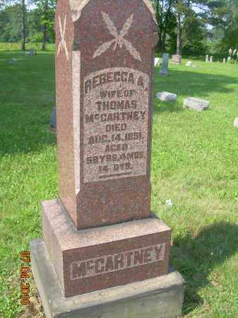 MCCARTNEY, REBECCA - Columbiana County, Ohio | REBECCA MCCARTNEY - Ohio Gravestone Photos