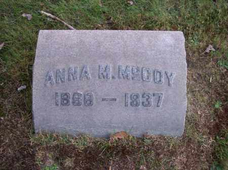 MCCOY, ANNA M. - Columbiana County, Ohio | ANNA M. MCCOY - Ohio Gravestone Photos