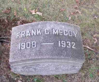 MCCOY, FRANK G. - Columbiana County, Ohio | FRANK G. MCCOY - Ohio Gravestone Photos