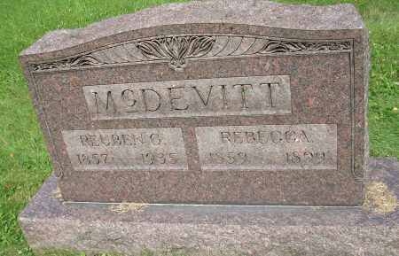MCDEVITT, REBECCA - Columbiana County, Ohio | REBECCA MCDEVITT - Ohio Gravestone Photos