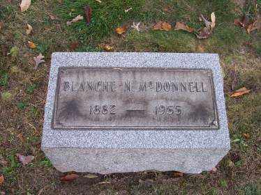 MCDONNELL, BLANCHE N. - Columbiana County, Ohio | BLANCHE N. MCDONNELL - Ohio Gravestone Photos