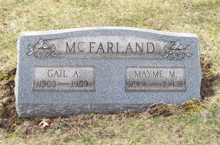 MCFARLAND, GAIL A. - Columbiana County, Ohio | GAIL A. MCFARLAND - Ohio Gravestone Photos