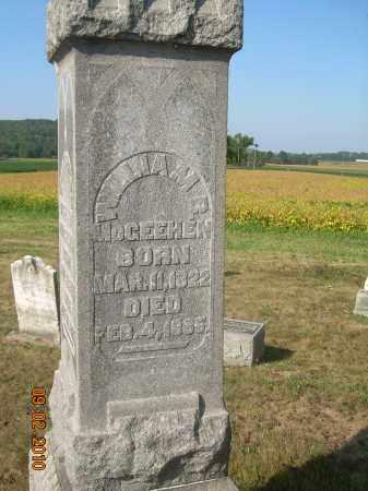 MCGEEHEN, WILLIAM B - Columbiana County, Ohio | WILLIAM B MCGEEHEN - Ohio Gravestone Photos