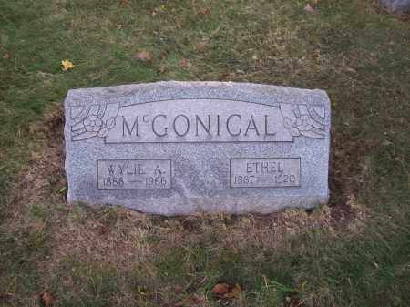 MCGONICAL, WYLIE A. - Columbiana County, Ohio | WYLIE A. MCGONICAL - Ohio Gravestone Photos