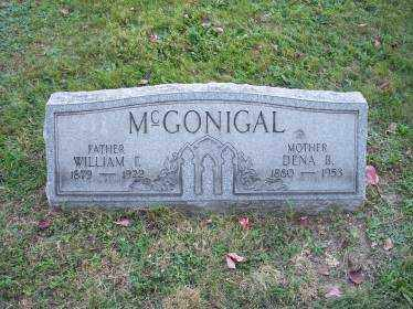 MCGONIGAL, DENA B. - Columbiana County, Ohio | DENA B. MCGONIGAL - Ohio Gravestone Photos