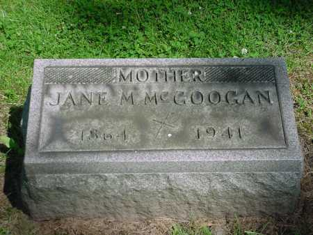 MOUNT MCGOOGAN, JANE MARY - Columbiana County, Ohio | JANE MARY MOUNT MCGOOGAN - Ohio Gravestone Photos