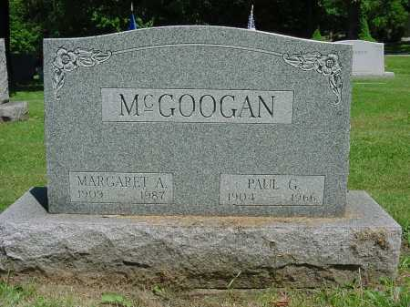 MCGOOGAN, MARGARET ANN - Columbiana County, Ohio | MARGARET ANN MCGOOGAN - Ohio Gravestone Photos