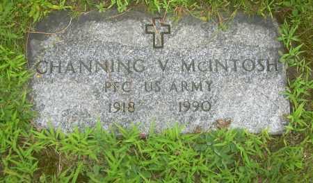 MCINTOSH, CHANNING V - Columbiana County, Ohio | CHANNING V MCINTOSH - Ohio Gravestone Photos