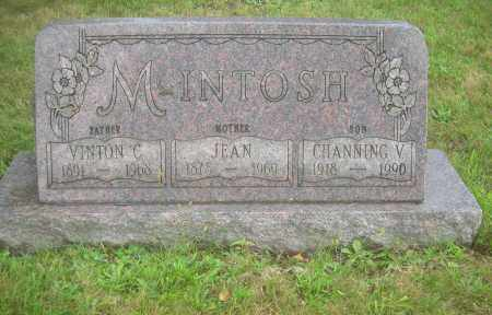 MCINTOSH, VINTON C - Columbiana County, Ohio | VINTON C MCINTOSH - Ohio Gravestone Photos