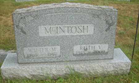 MCINTOSH, RUTH V - Columbiana County, Ohio | RUTH V MCINTOSH - Ohio Gravestone Photos