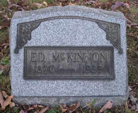 MCKINNON, ED - Columbiana County, Ohio | ED MCKINNON - Ohio Gravestone Photos