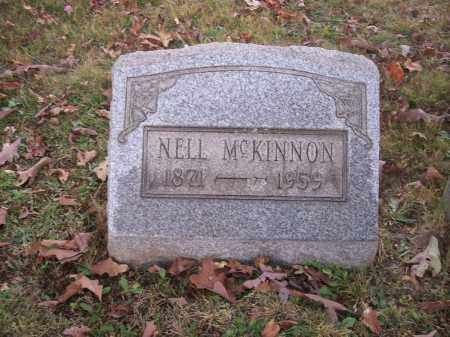 MCKINNON, NELL - Columbiana County, Ohio | NELL MCKINNON - Ohio Gravestone Photos