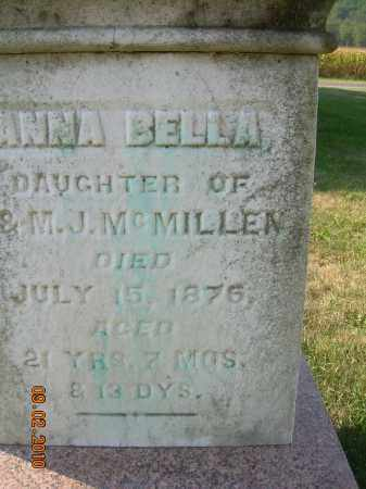 MCMILLEN, ANNA BELLA - Columbiana County, Ohio | ANNA BELLA MCMILLEN - Ohio Gravestone Photos